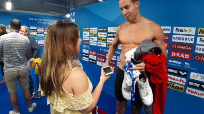 """Timmers uitgeschakeld op 100m vrij met traagste tijd van alle halve finalisten: """"Ik weet niet wat ik had"""""""