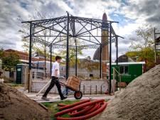 Terug na 84 jaar van omzwervingen: de kiosk in Waalwijk