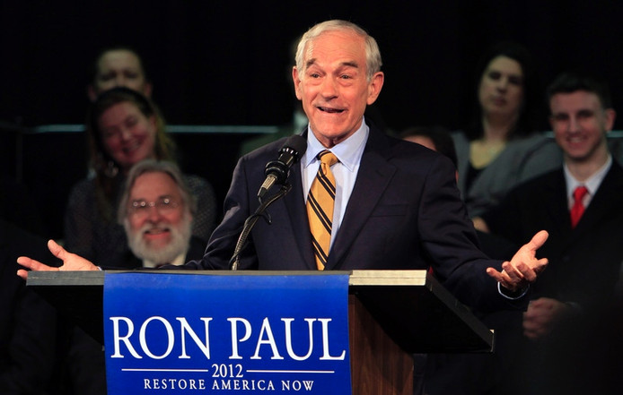 Ron Paul. Foto: AP