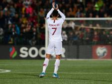 Cristiano Ronaldo-show in Litouwen