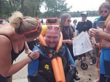 IJzeren Man Vught is voor Diessense ALS-patiënt prima alternatief Amsterdam City Swim