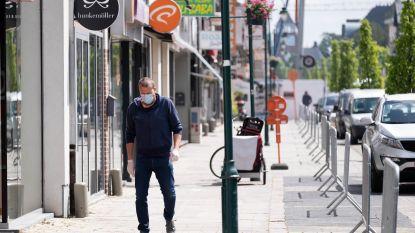 Mondmasker verplicht in Heistse winkelstraat Bergstraat