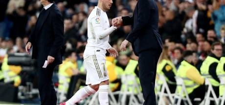 """Zidane confiant pour Hazard: """"Petit à petit, nous allons voir Eden avec l'équipe"""""""