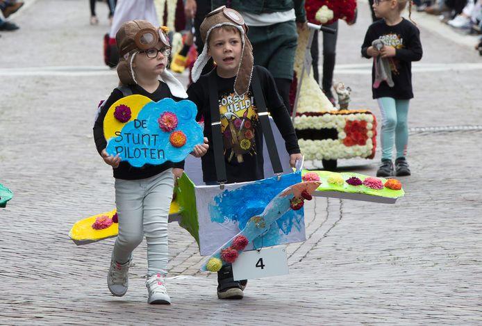 Geen groot bloemencorso in Lichtenvoorde dit jaar, maar wel een kindercorso.