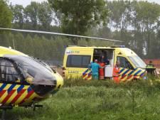 Zwaargewonde man langs de weg gevonden in Bergeijk