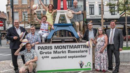 Bodypaint met chocolade op 25 jaar Paris-Montmartre