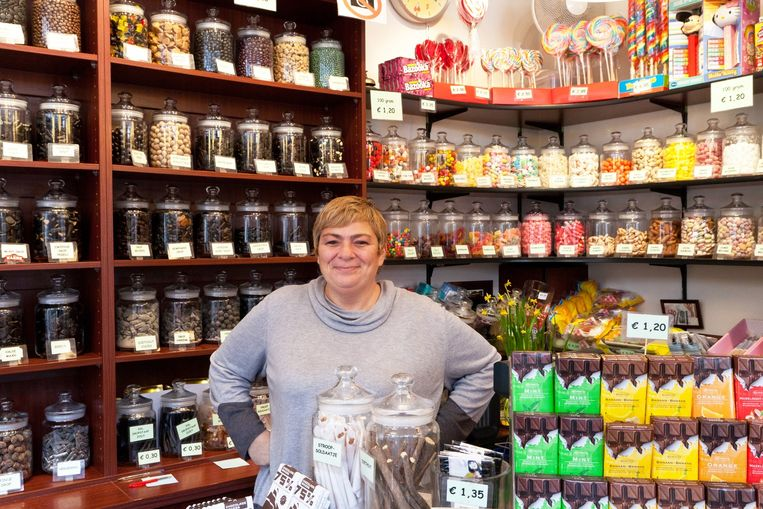 Het Oud-Hollandsch Snoepwinkeltje. Beeld Roï Shiratski