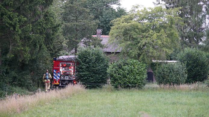 De keukenbrand vond plaats in een woonboerderij in Harfsen.