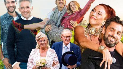 JAAROVERZICHT. De mooiste koppels, huwelijken en aanzoeken uit 2018