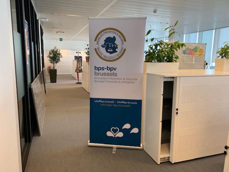 Het nieuwe verwerkingscentrum in Brussel.