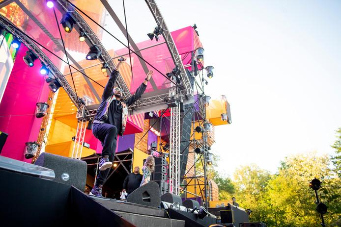 Sean Paul op de mainstage tijdens de editie van Freshtival van vorig jaar.