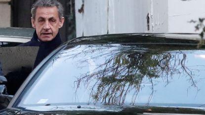 Tweede dag politieverhoor voor voormalige Franse president Sarkozy