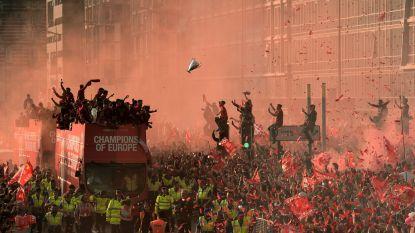 De champagne was besteld, de parade uitgetekend: na 30 jaar wachten viert Liverpool zijn titel zonder publiek