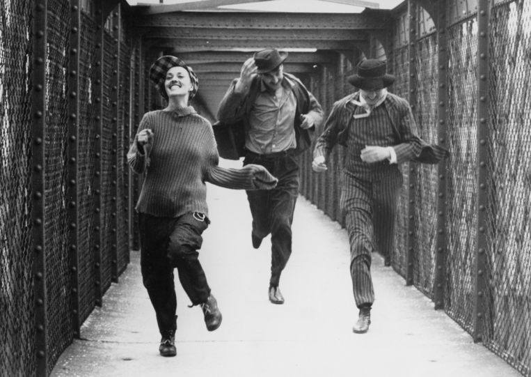 Jules et Jim, Francois Truffaut, 1962. Beeld