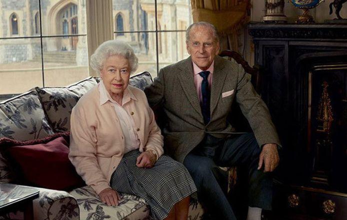 De Queen en prins Philip.