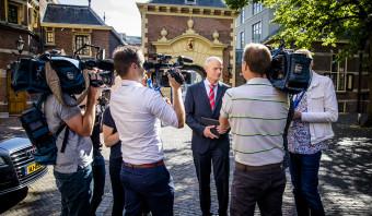 Blok sprak op het Binnenhof: het was géén besloten bijeenkomst