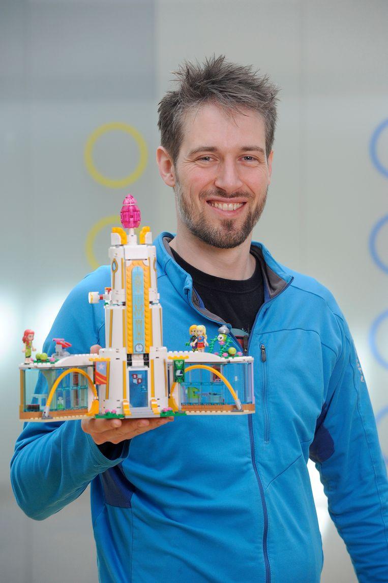 Bastiaan Brederode, ontwerper bij LEGO Beeld Bastiaan Brederode