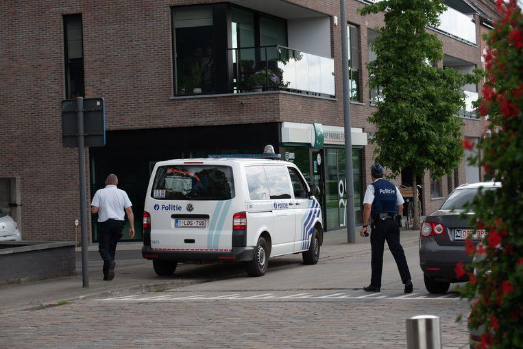 In de Parklaan was de dader te voet kunnen ontkomen.