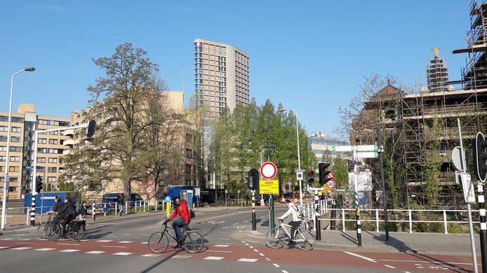 De Kanaalstraat in Eindhoven gaat na Pasen op de schop tussen Nachtegaallaan (foto) en Tramstraat.