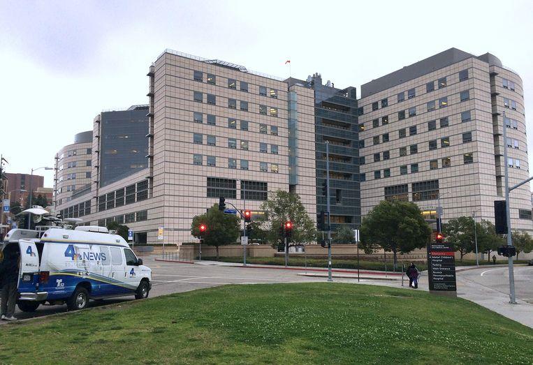 Fisher werd verzorgd in het Ronald Reagan UCLA Medical Center in Los Angeles.