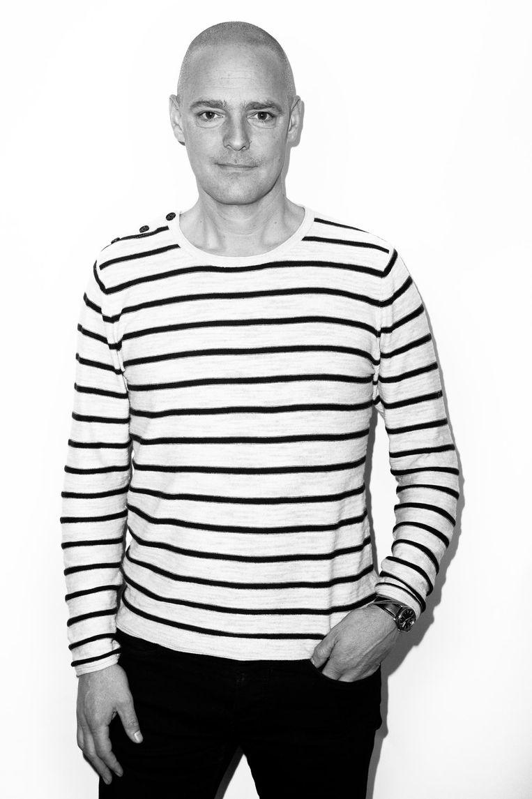 Jan Pieter Ekker: chef van de redactie kunst & media van Het Parool Beeld Linda Stulic