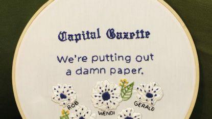Journalisten Capital Gazette weer aan het werk na schietpartij