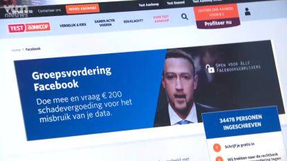 Groepsvordering tegen Facebook ingeleid: Test Aankoop eist 200 euro per bedrogen Facebookgebruiker