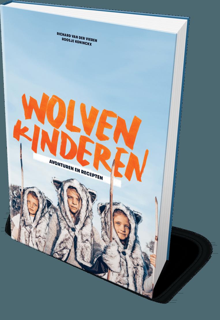 Boek 'Wolvenkinderen' van Richard Van der Vieren en Roosje Koninckx