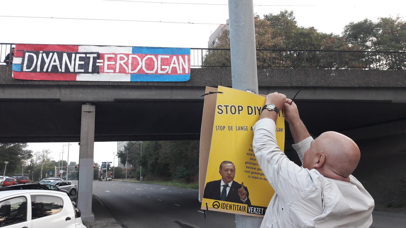 Actie tegen een moskee in Nijmegen