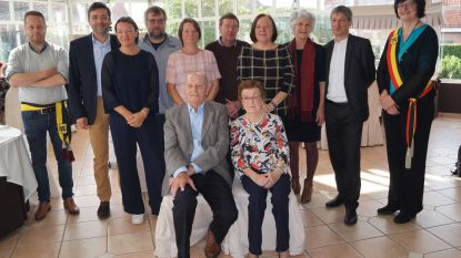 Maurits en Magdalena vieren 65 jaar huwelijksgeluk
