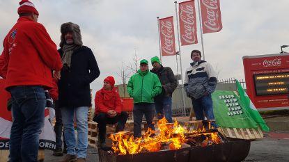Vakbonden Coca-Cola voeren op verschillende plaatsen actie