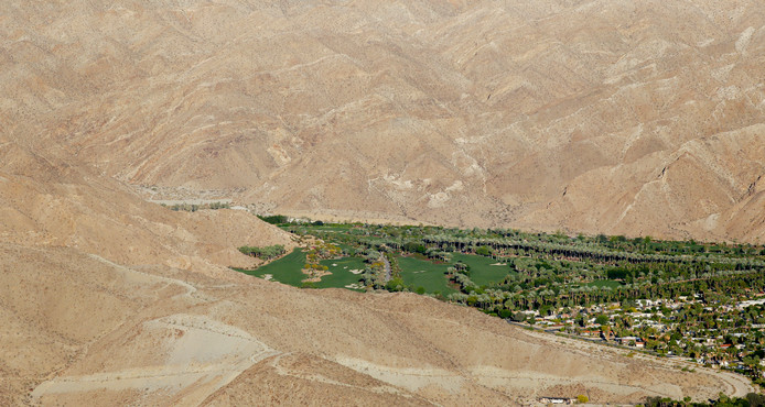 Le terrain de golf de Porcupine Creek à Rancho Mirage.