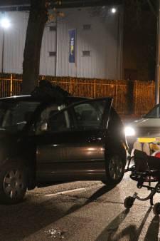 Automobilist gewond bij botsing in Vianen