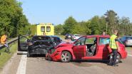 Moeilijke avondspits na ongeval met drie auto's op E314