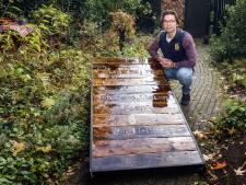 'Waardeloze dingen' zijn voor Gijsbert-Willem uit Putten materiaal voor een persoonlijk grafmonument