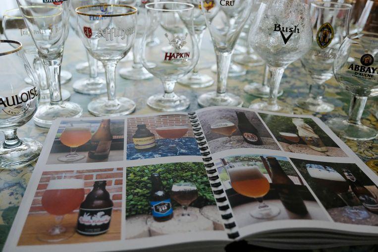 Alle 1.000 bieren werden verzameld in het fotoalbum BierWispedia.