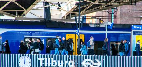 Treinreizigers opgelet: Dit weekend geen treinen tussen Tilburg en Boxtel en tussen Tilburg en Den Bosch
