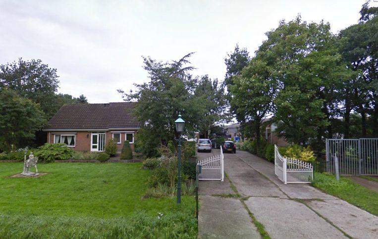 De stallen in Vijfhuizen Beeld Google Maps