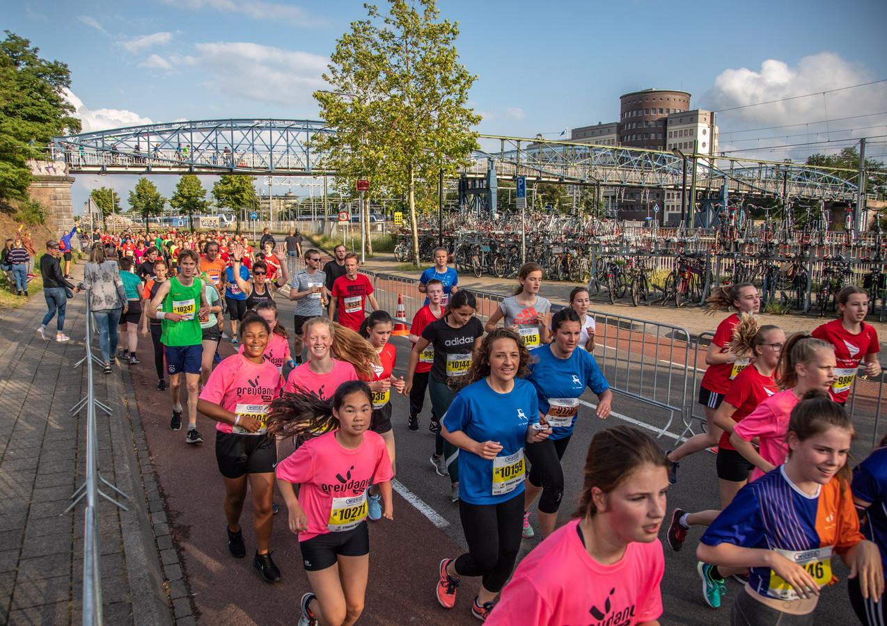 Halve marathon van Zwolle.