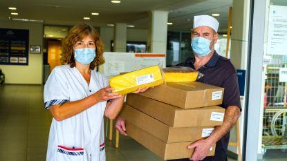 Rotaryclub trakteert 13.000 zorgverstrekkers en patiënten op cake
