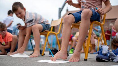 Vrije Basisschool 'stapt' het nieuwe schooljaar in