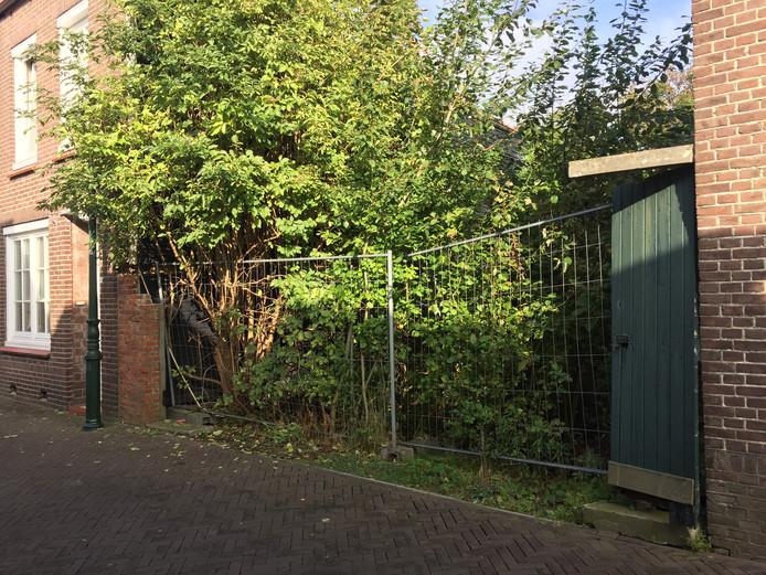 Van veertien huizen op de Molenstraat wordt nauwelijks gebruik gemaakt.
