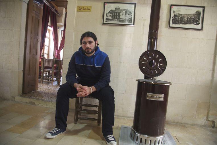 Ahmed al-Halabe, vocht voor VSL. Beeld Mohammad Abdelazez