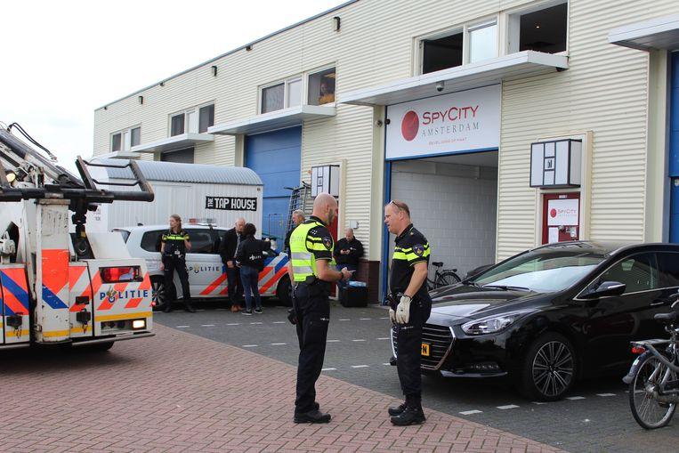 Sander de L. werd bij spyshop Spy City in Amsterdam zwaar mishandeld. Beeld ANP