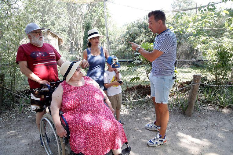 Willy (71) en Viviane (70) uit Zaventem met dochter Cassandra (26) en kleinzoon Jayden (5)