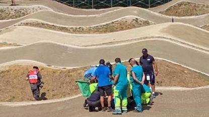 Jonge BMX-ster Julie (11) gewond na val tijdens Wereldkampioenschap