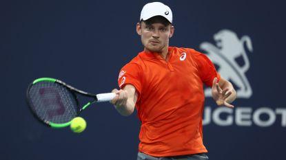 David Goffin zakt plaatsje op ATP-ranking, Elise Mertens stijgt in dubbelspel naar hoogste plek ooit