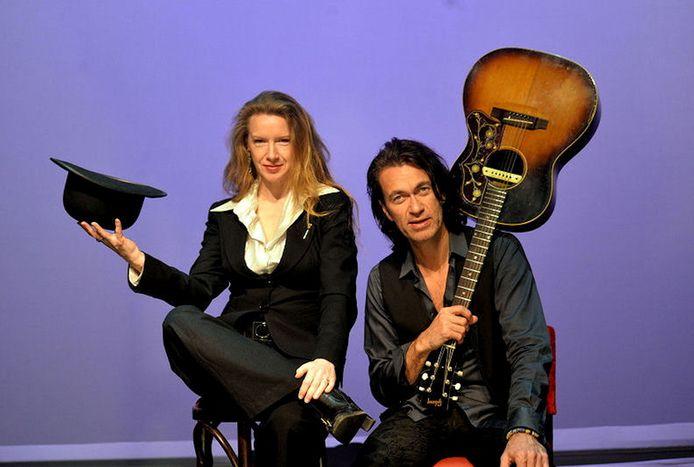 Micheline Van Hautem en Erwin van Ligten