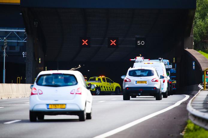 Archieffoto van de Heinenoordtunnel.