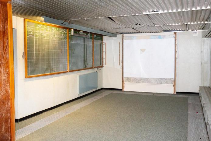In deze kamer werd de radioactiviteit gemeten en bijgehouden voor verschillende deelgemeenten.